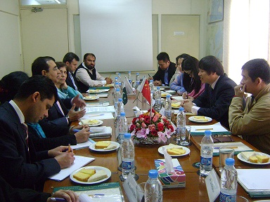 Roundtable Conference with a visiting delegations from China